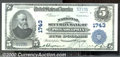National Bank Notes:Pennsylvania, National Security Bank of Philadelphia, PA, Charter #1743. 1902...