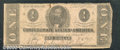 Confederate Notes:1862 Issues, 1862 $1 Clement C. Clay, T-55, Good-VG. Good color but the pape...