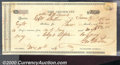 Miscellaneous:Republic of Texas Notes, Republic of Texas Warrant, Columbia, 1836, XF, stain. Cr-C2D. A...