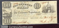 Miscellaneous:Republic of Texas Notes, $10 Government of Texas, Houston 1838, VF. Cr-H17A. A pleasing,...