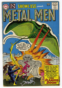 Showcase #37 Metal Men (DC, 1962) Condition: FN-