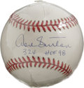 "Autographs:Baseballs, Don Sutton ""324 HOF 98"" Single Signed Baseball. Hall of Fame aceDon Sutton makes reference to his induction date as well a..."