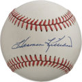 Autographs:Baseballs, Harmon Killebrew Single Signed Baseball. Absolutely pristineapplication of Hall of Fame slugger Harmon Killebrew's desirab...