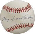 Autographs:Baseballs, Ray Dandridge Single Signed Baseball. The third base specialist RayDandridge made fielding his position an art form, with ...