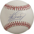 Autographs:Baseballs, Ken Griffey, Jr. Single Signed Baseball. Junior's coveted signatureis made available here as it has been applied to the Of...