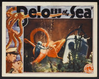 "Below the Sea (Columbia, 1933). Lobby Card (11"" X 14""). Adventure. Starring Ralph Bellamy, Fay Wray, Frederick..."