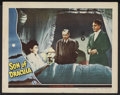 """Movie Posters:Horror, Son of Dracula (Universal, 1943). Lobby Card (11"""" X 14""""). Horror.Starring Lon Chaney, Jr., Robert Paige, Louise Allbritton,..."""