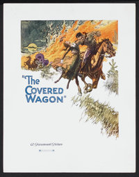 "The Covered Wagon (Paramount, 1923). Lobby Display (11"" X 14""). Western. Starring J. Warren Kerrigan, Lois Wil..."