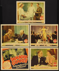 """Movie Posters:Drama, Damaged Goods (Grand National, 1937). Title Lobby Card (11"""" X 14"""")and Lobby Cards (4) (11"""" X 14""""). Drama. Starring Pedro de...(Total: 5 Items)"""