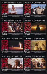 "The Last Temptation of Christ (Universal, 1988). British Lobby Card Set of 8 (11"" X 14""). Biblical Drama. Star..."