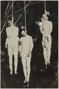 Photography:Cabinet Photos, Three men Hung in California 1920s - ...