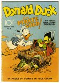 Golden Age (1938-1955):Cartoon Character, Four Color #9 Donald Duck (Dell, 1942) Condition: FR....