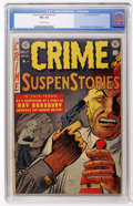 Golden Age (1938-1955):Crime, Crime SuspenStories #17 (EC, 1953) CGC FN+ 6.5 Off-white pages....