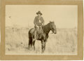 Western Expansion:Cowboy, Cabinet of Unidentified Cowboy, 1898. ...