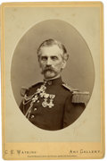 Photography:Cabinet Photos, Cabinet Card of Col. Eugene von Hasslocher, circa 1873. ...