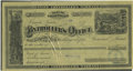 Western Expansion:Goldrush, 1880 Engraved Warrant from the State Controller of Nevada. ...