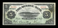 Canadian Currency: , Quebec, PQ- The Quebec Bank $5 Jan. 3, 1898 Ch. # 620-44-02. ...