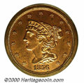 Additional Certified Coins: , 1856 1/2 C, RD