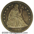 Additional Certified Coins: , 1845 S$1