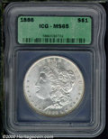 Additional Certified Coins: , 1886 S$1