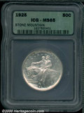 Additional Certified Coins: , STONE MT 50C
