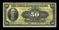 Canadian Currency: , Montreal, PQ- The Royal Bank of Canada $50 Jan. 2, 1913 Ch. #630-12-18. ...