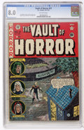 Golden Age (1938-1955):Horror, Vault of Horror #21 (EC, 1951) CGC VF 8.0 Off-white pages....