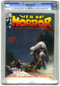 Bronze Age (1970-1979):Horror, Web of Horror #3 (Major Magazines, 1970) CGC VF+ 8.5 Whitepages....