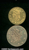 California Fractional Gold: , Multiple Coin Lot...