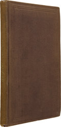 Books:First Editions, Louisa May Alcott. Hospital Sketches. Boston: James Redpath,Publisher, 1863.. ...