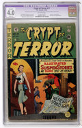 Golden Age (1938-1955):Horror, Crypt of Terror #17 (EC, 1950) CGC Apparent VG 4.0 Slight (A)Off-white pages....