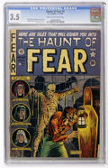 Golden Age (1938-1955):Horror, Haunt of Fear #4 (EC, 1950) CGC VG- 3.5 Cream to off-whitepages....