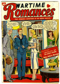 Golden Age (1938-1955):Romance, Wartime Romances #1 (St. John, 1951) Condition: VG+....