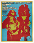Music Memorabilia:Posters, Mountain/Bob Seger System Aragon Ballroom Concert Poster (AmericanTribal Productions, circa early 1970s). During the 1970s... (Total:1 Item)
