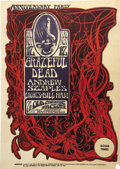 Music Memorabilia:Posters, Grateful Dead Anniversary Party Old Cheese Factory ConcertPoster (1966). ...