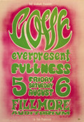 Music Memorabilia:Posters, Love Fillmore Auditorium Concert Poster, BG-21 (Bill Graham, 1966). While we see this pink-and-green poster from time to tim... (Total: 1 Item)