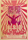 """Music Memorabilia:Posters, Grass Roots """"Wonderland"""" Avalon Ballroom Concert Poster, FD-15(Family Dog, 1966). This original print poster is one of the...(Total: 1 Item)"""
