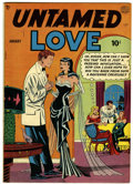 Golden Age (1938-1955):Romance, Untamed Love #1 (Quality, 1950) Condition: VG-....