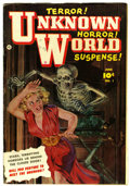 Golden Age (1938-1955):Horror, Unknown World #1 (Fawcett, 1952) Condition: VG/FN....
