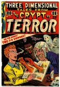 Golden Age (1938-1955):Horror, Three Dimensional Tales from the Crypt of Terror #2 (EC, 1954)Condition: VG/FN....