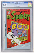 Bronze Age (1970-1979):Humor, Spooky #156 File Copy (Harvey, 1977) CGC NM+ 9.6 Off-white to white pages....