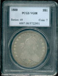 Early Dollars: , 1800 S$1