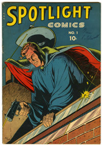 Spotlight Comics #1 (Chesler, 1944) Condition: FN+