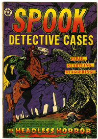 Spook #22 (#1) (Star Publications, 1953) Condition: VG+