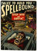 Golden Age (1938-1955):Horror, Spellbound #1 (Atlas, 1952) Condition: VG+....