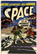 Golden Age (1938-1955):Science Fiction, Space Worlds #6 (Atlas, 1952) Condition: VG/FN....