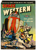 Golden Age (1938-1955):Science Fiction, Space Western #40 (Charlton, 1952) Condition: VG....