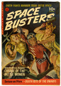 Golden Age (1938-1955):Science Fiction, Space Busters #1 (Ziff-Davis, 1952) Condition: FN-....
