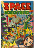 Golden Age (1938-1955):Science Fiction, Space Adventures #1 (Charlton, 1952) Condition: FN....