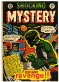 Golden Age (1938-1955):Horror, Shocking Mystery Cases #50 (Star Publications, 1952) Condition:FN-....